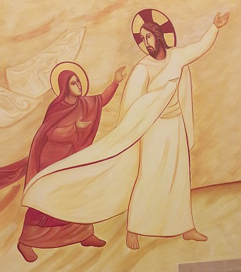 Mary Magdalene Encounters the Risen Lord